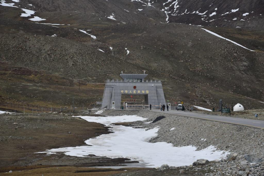 Khunjerab Pass, paso fronterizo