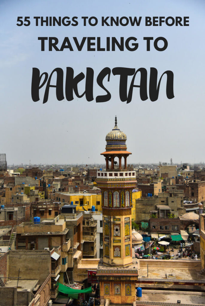 Need to know before you travel to Pakistan