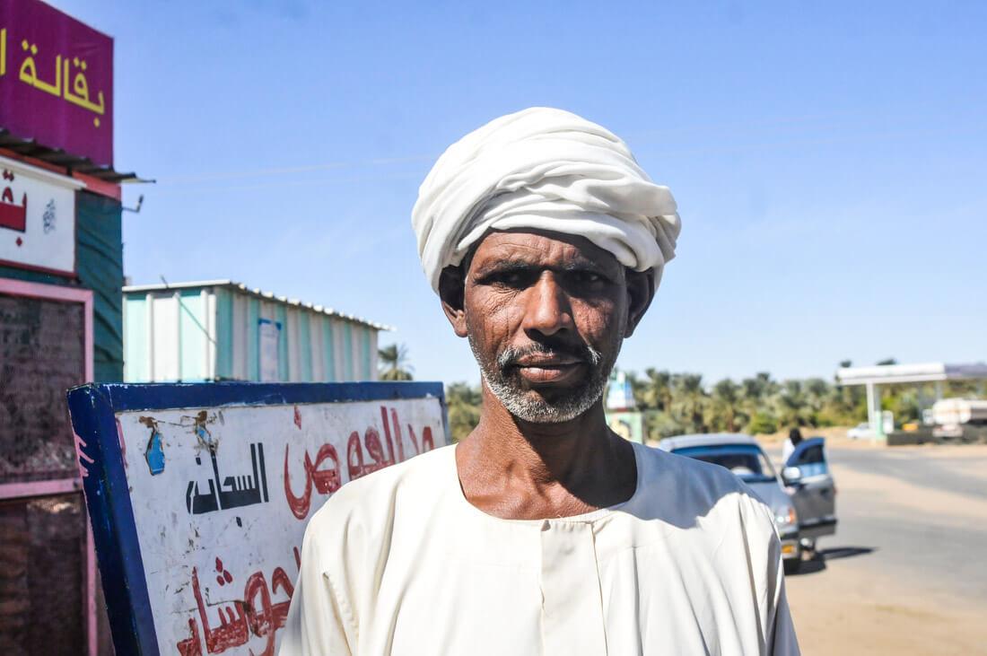 Tribal man, Sudan