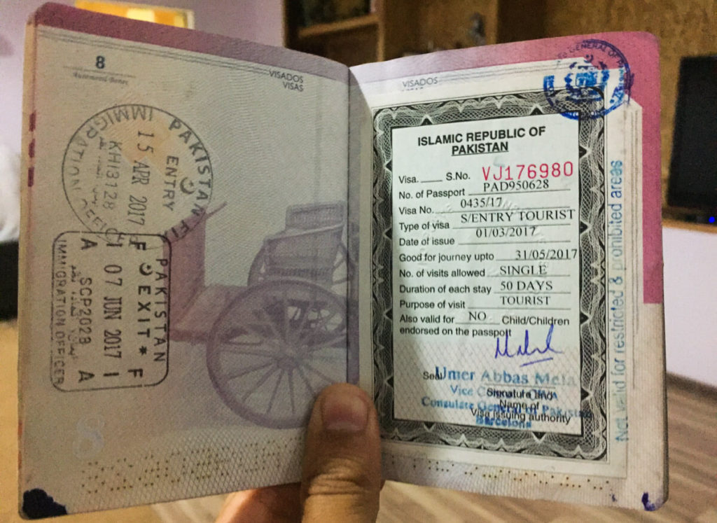 Visa for Pakistan