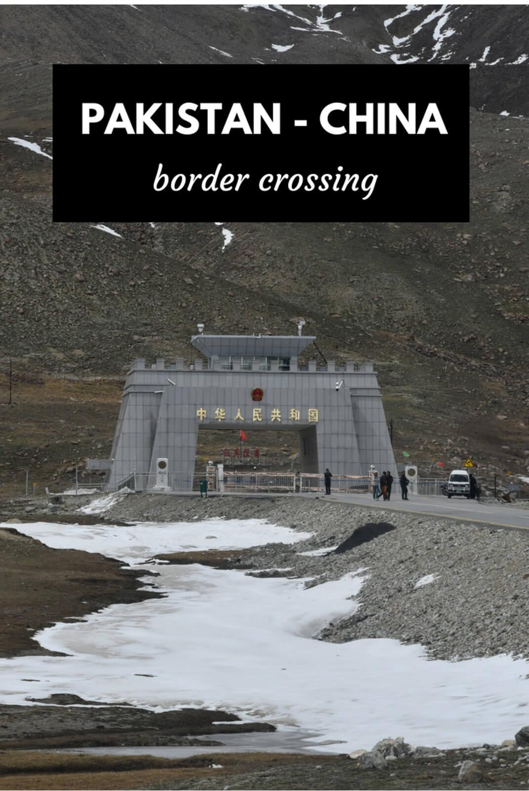 Cruzar la frontera Pakistán a China en Khunjerab Pass