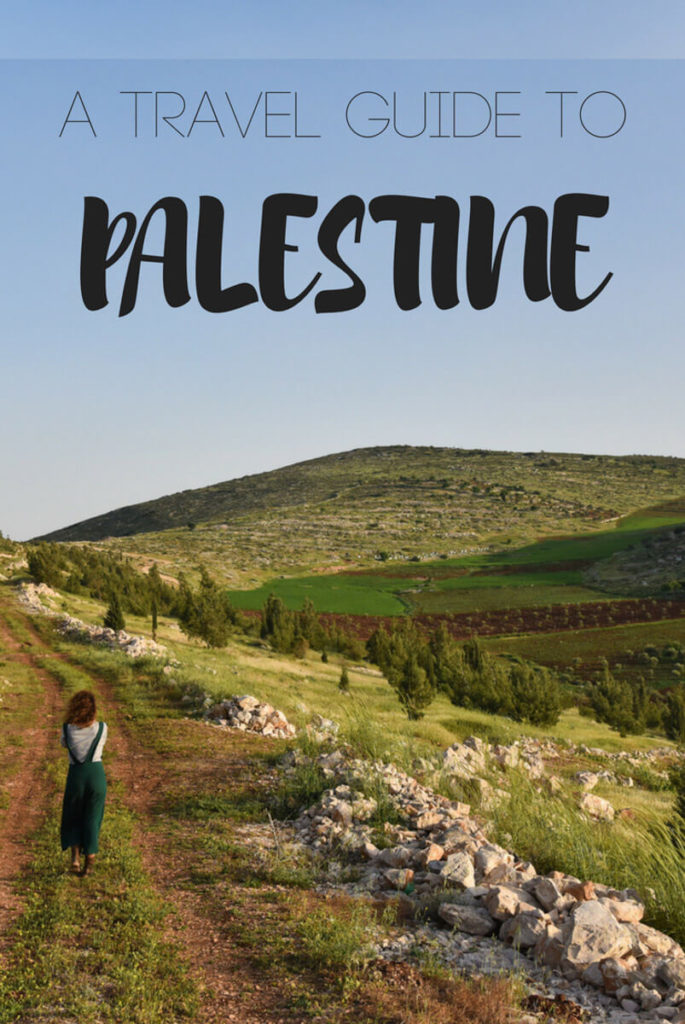 Travel to Palestine - 2-week backpacking itinerary