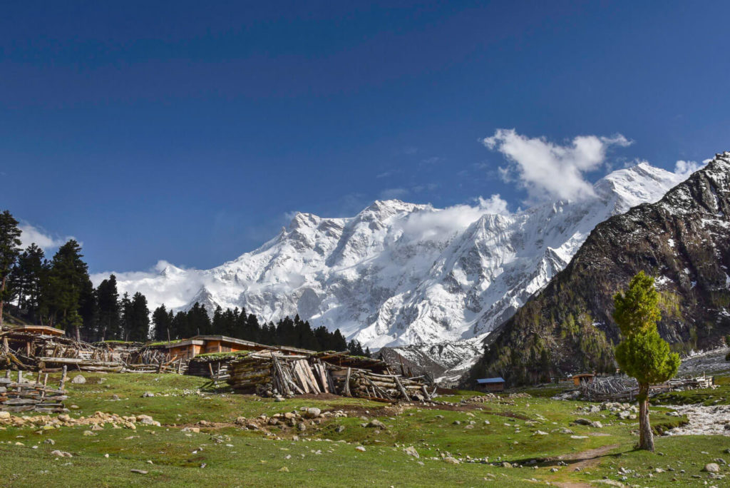 Behal camp site, Fairy Meadows