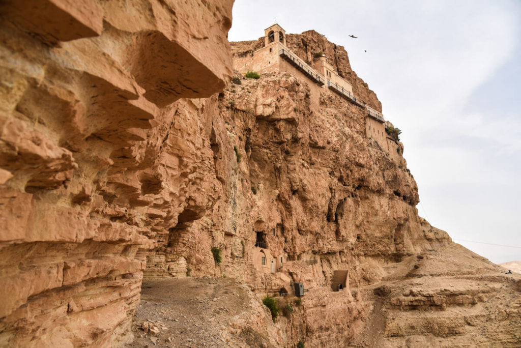 Visit Palestine - Monastery of Tempation  Travel to Palestine (West Bank) – 2-week itinerary + Tips monastery temptation jericho 1024x684