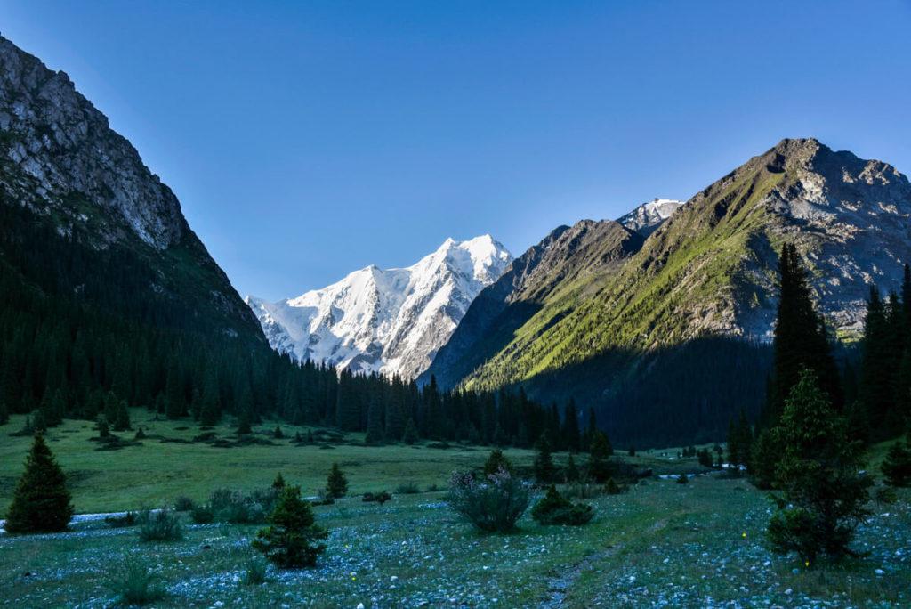 Mount Karakol,, Kyrgyzstan