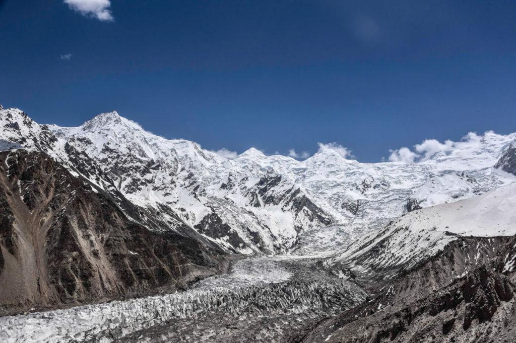 Raikot glacier and Nanga Parbat