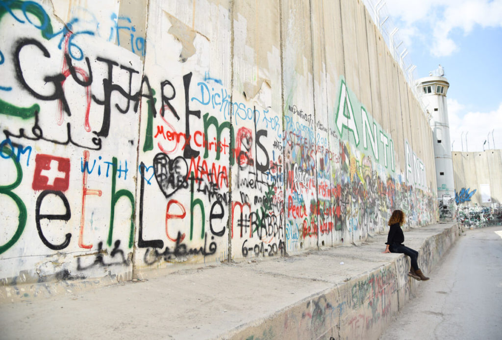 The separation wall of Bethlehem