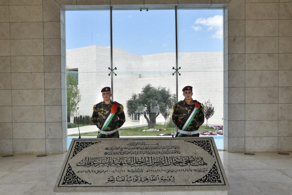 Yasser's Arafat Tomb