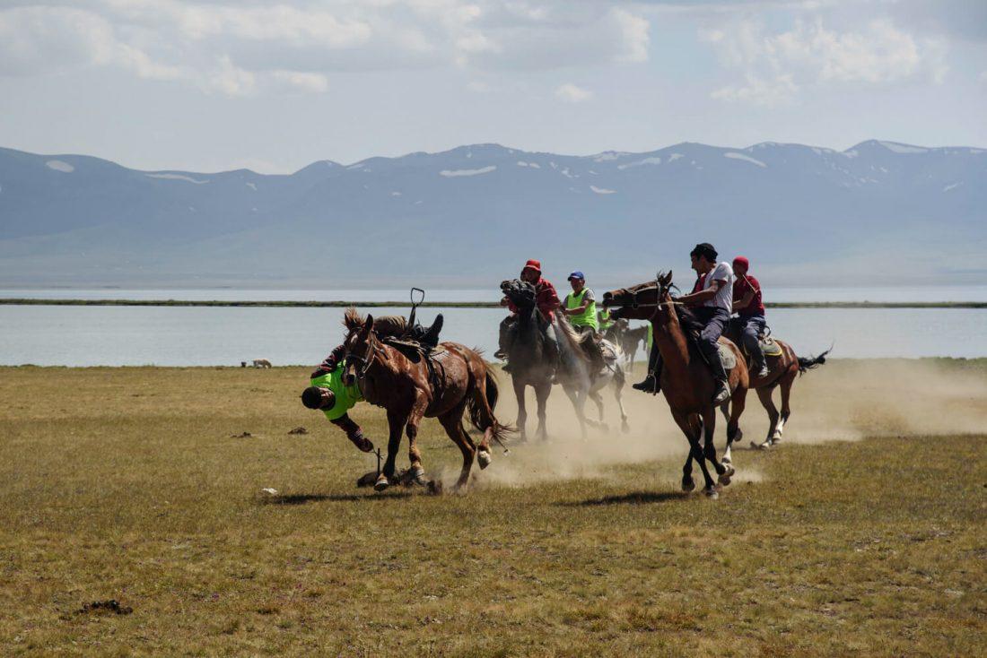 Ulak Tartysh, horse games in Kyrgyzstan