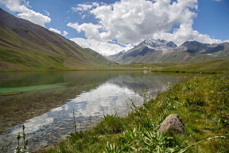 Tulparkul Lago, Kirguistán