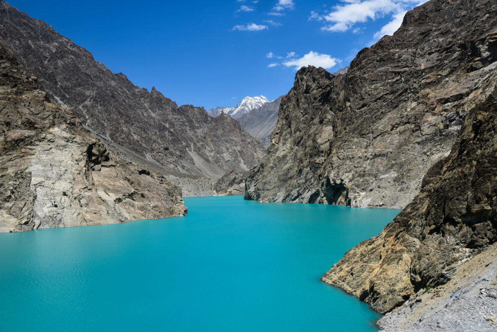 Attabad Lake, KKH