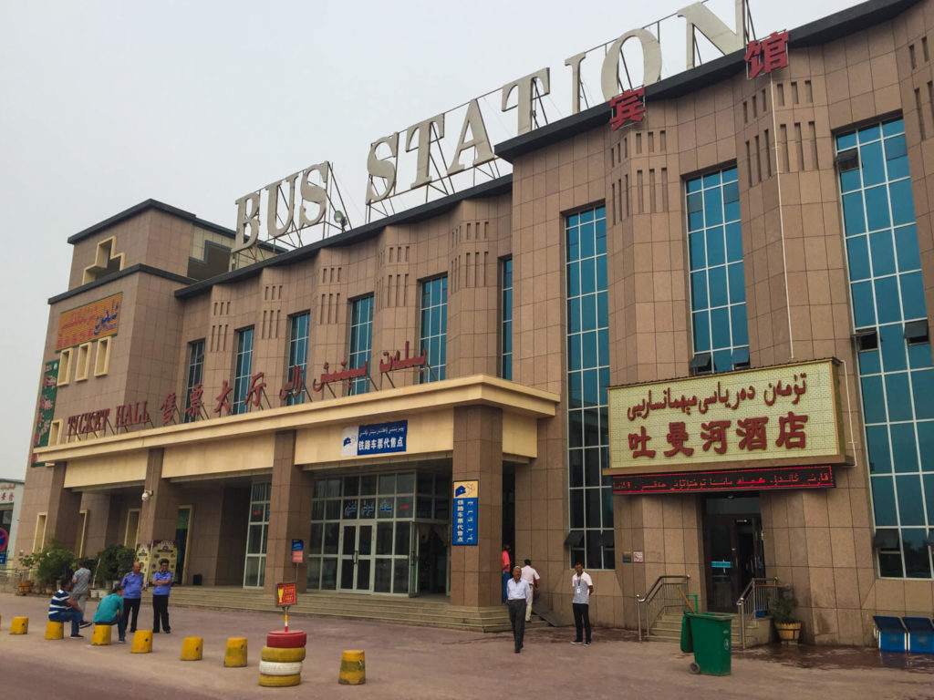 Kashgar bus station