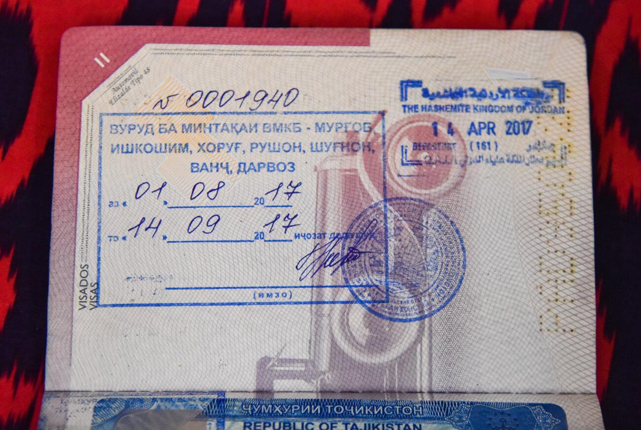 gbao permit tajikistan