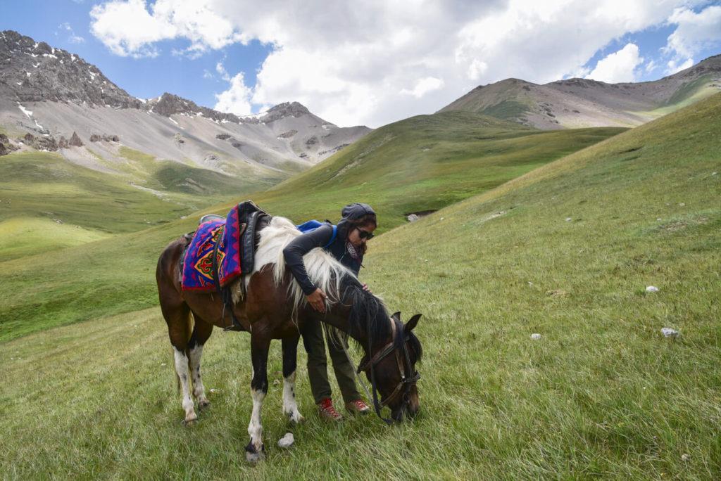 Kyrgyzstan hiking