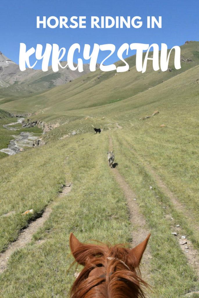 horse riding tash rabat kyrgyzstan