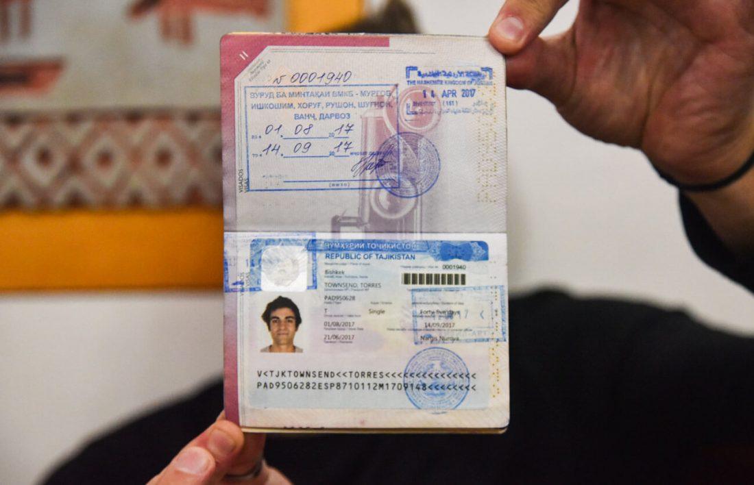 tayikistan viaje visa