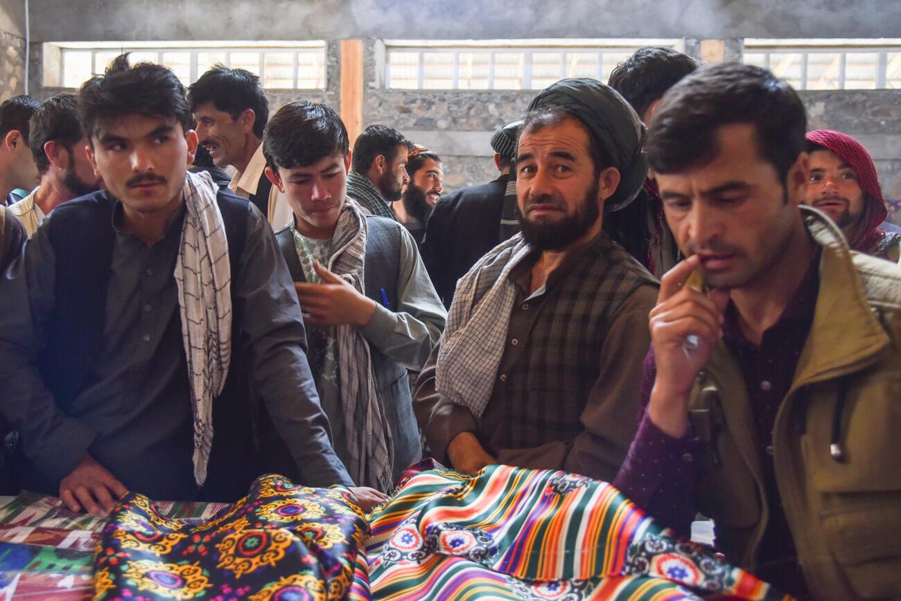 Afghan market Khorog