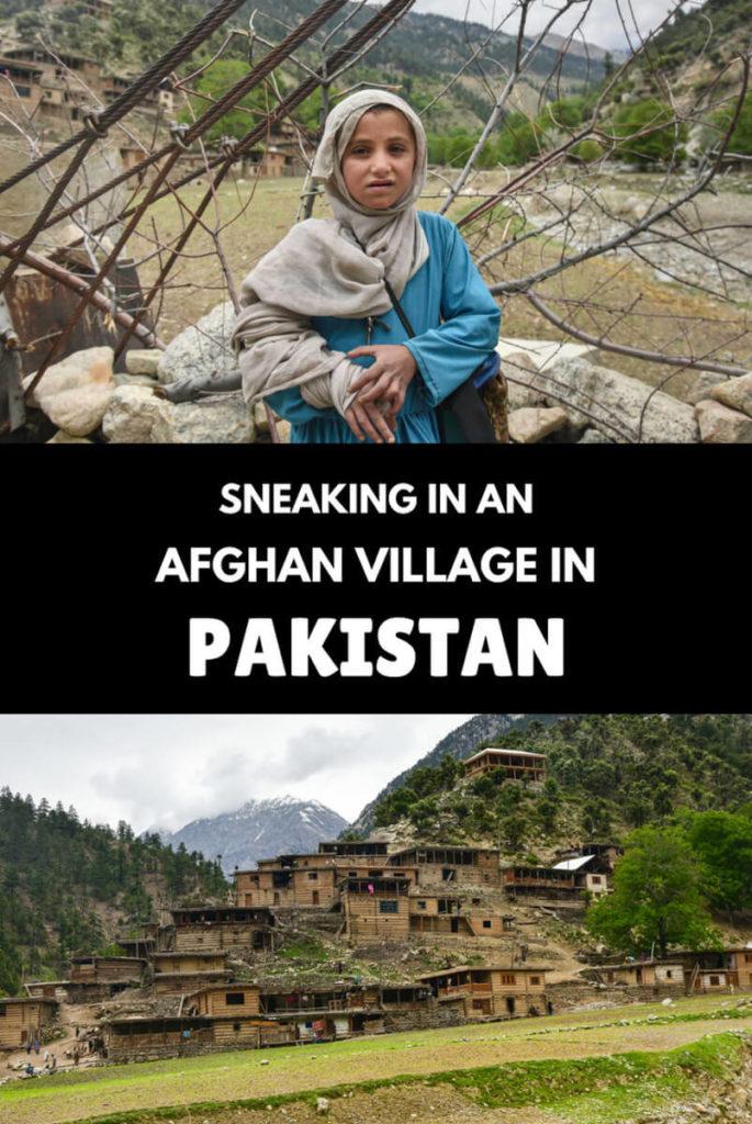 Afghan village
