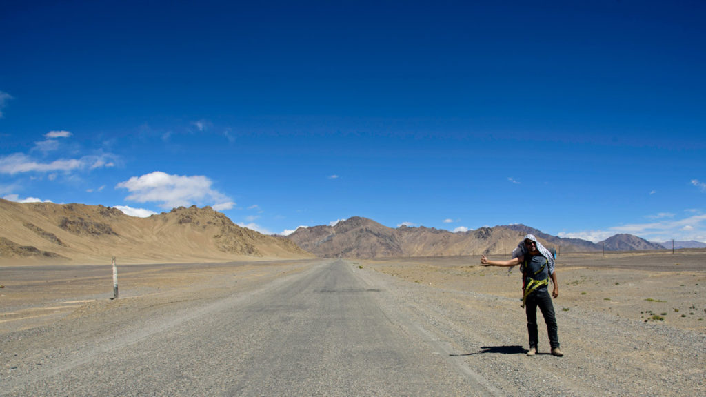 Hitchhiking Pamir Highway