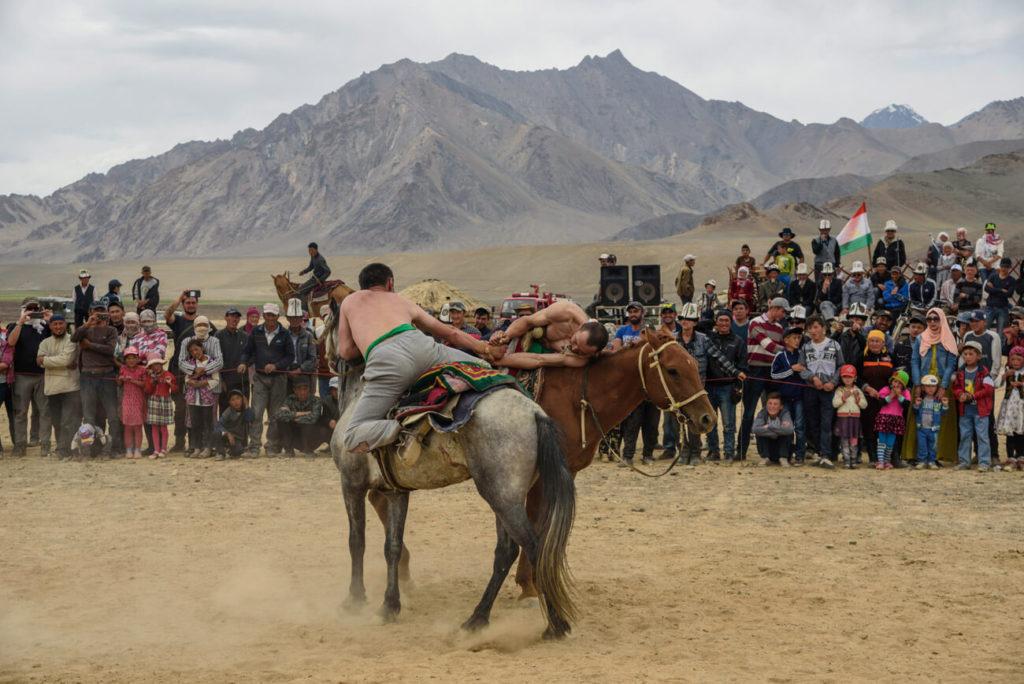 Horse games tajikistan