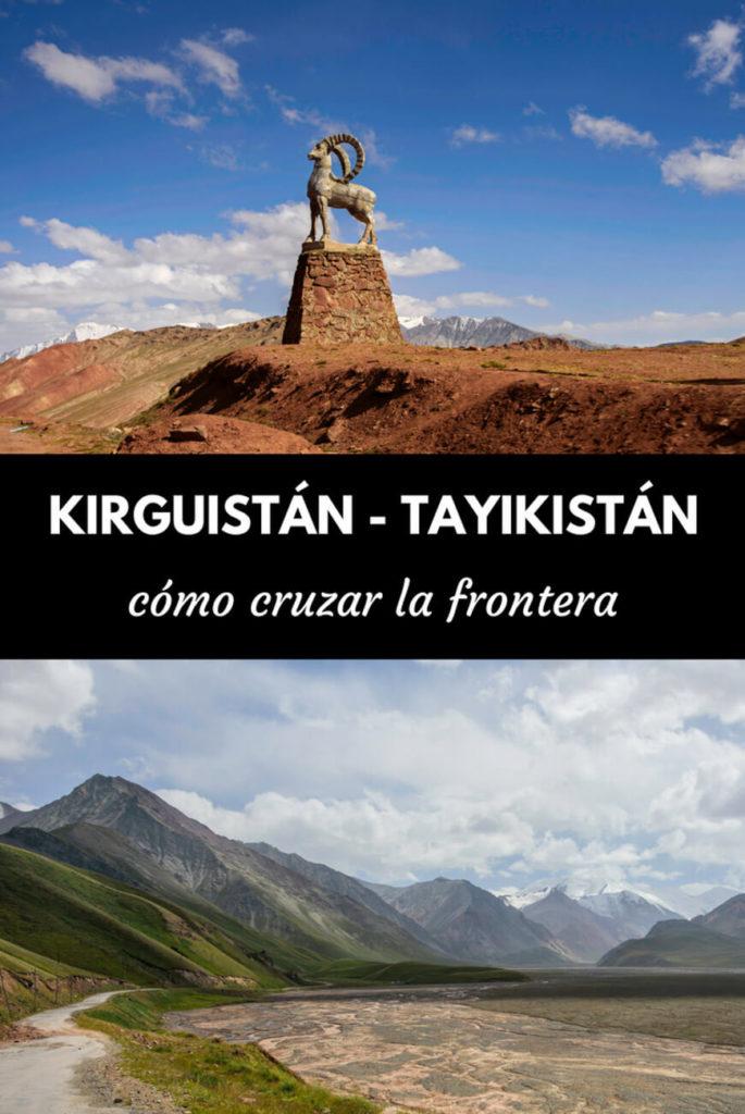 Kirguistán Tayikistán frontera