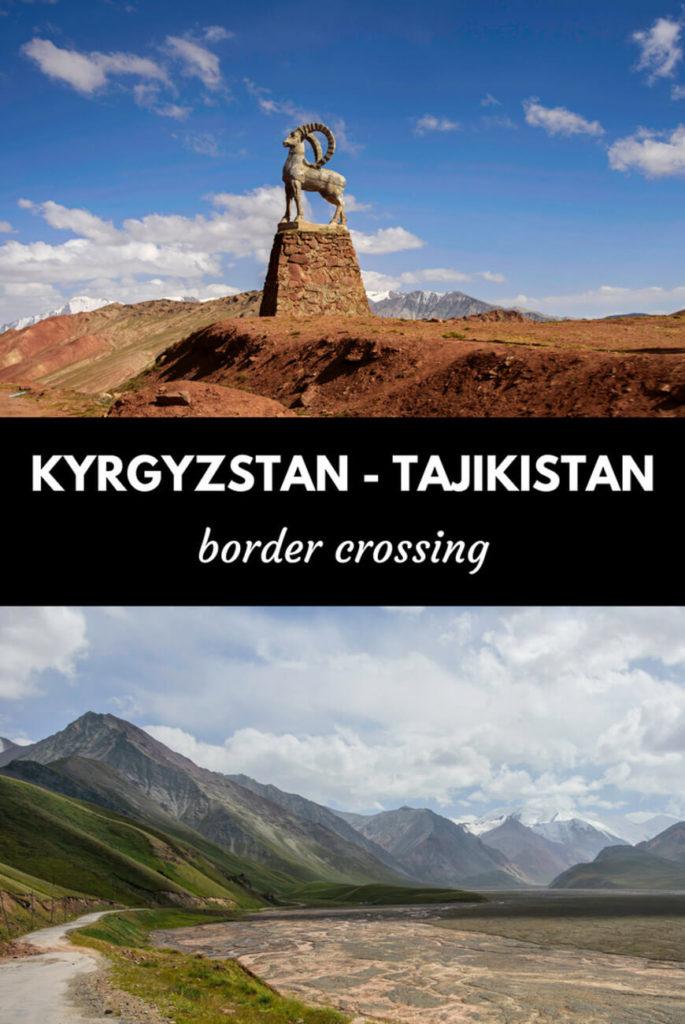 Kyrgyzstan - Tajikistan border crossing