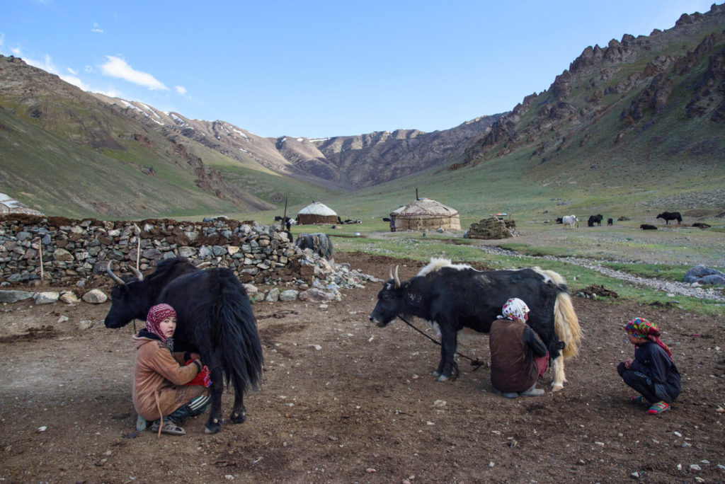 Nómadas Tayikistán