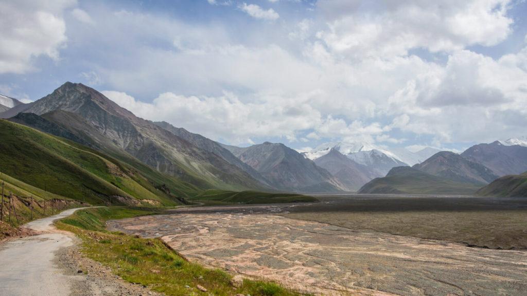 Tajikistan Kyrgyzstan border