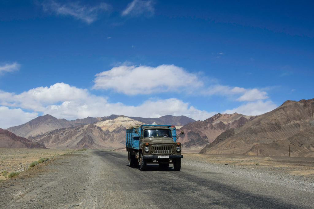Transportation in the Pamir Highway