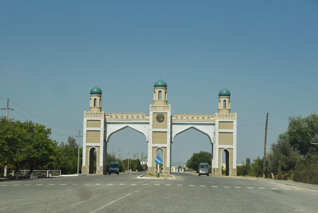 Tajikistan Uzbekistan border