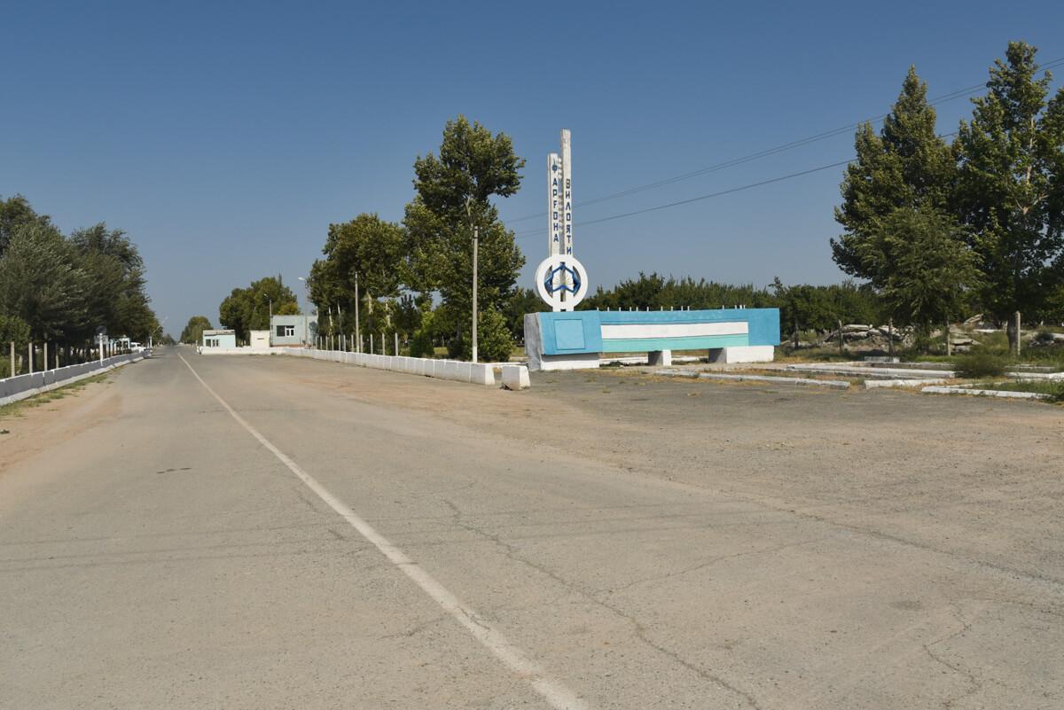 uzbekistan borders