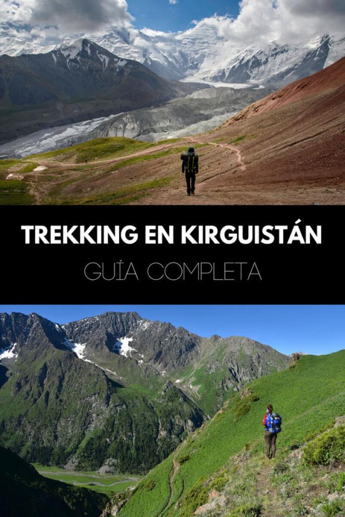 Trekking en Kirguistán