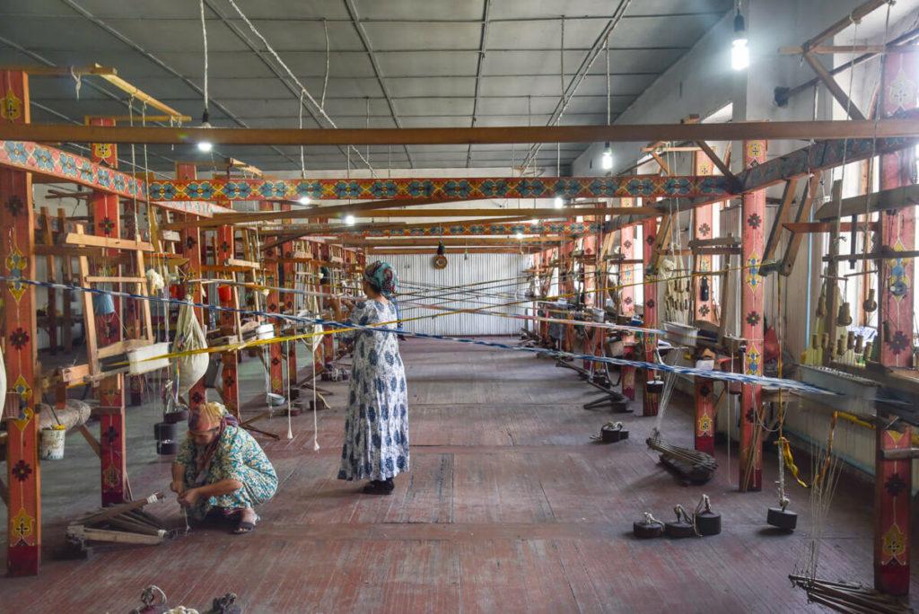 Silk Factory Uzbekistan