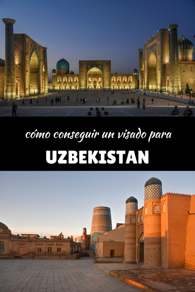 visado uzbekistan
