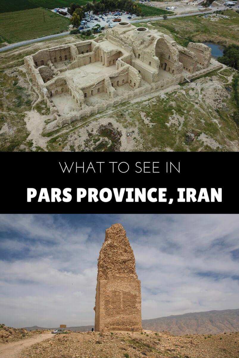 travel Pars provinces