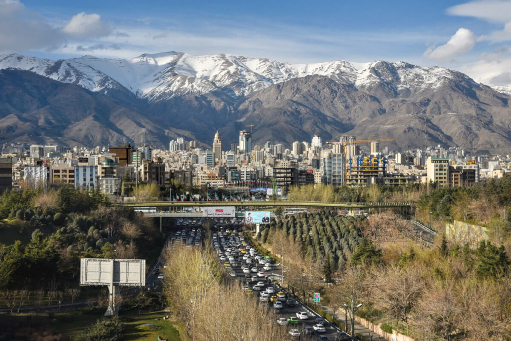 tehran sightseeing