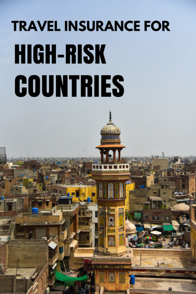 travel insurance high risk countries