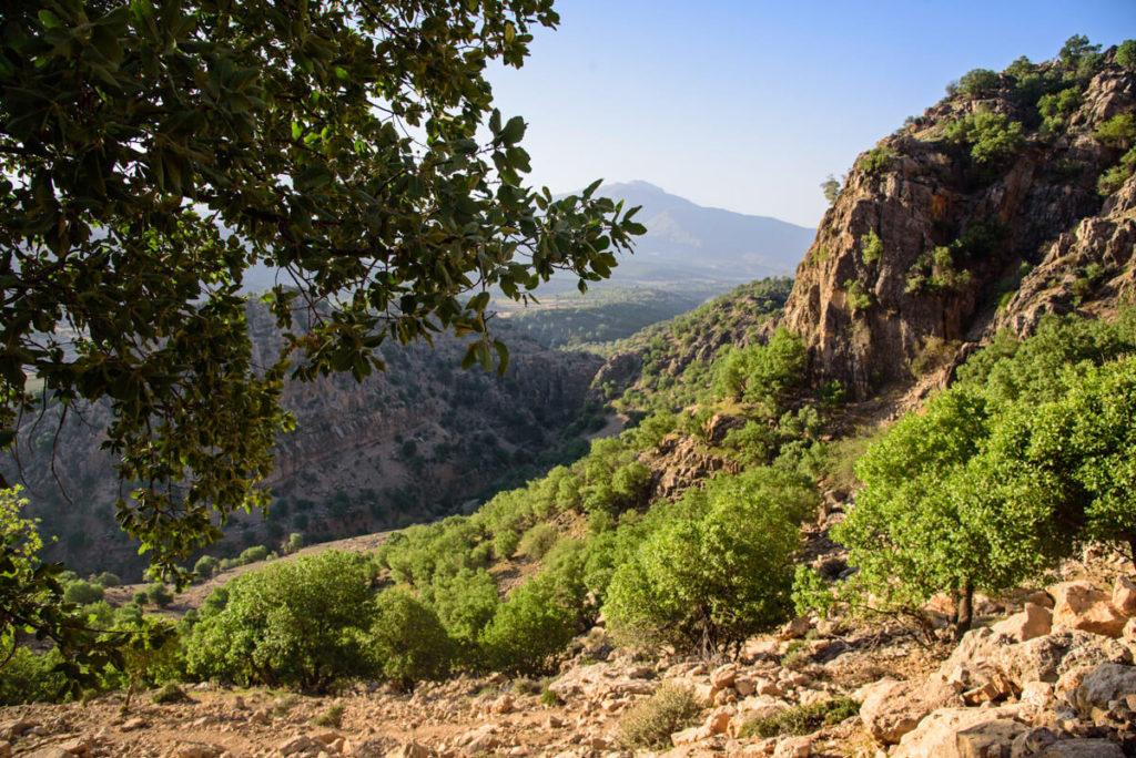Zagros mountain range