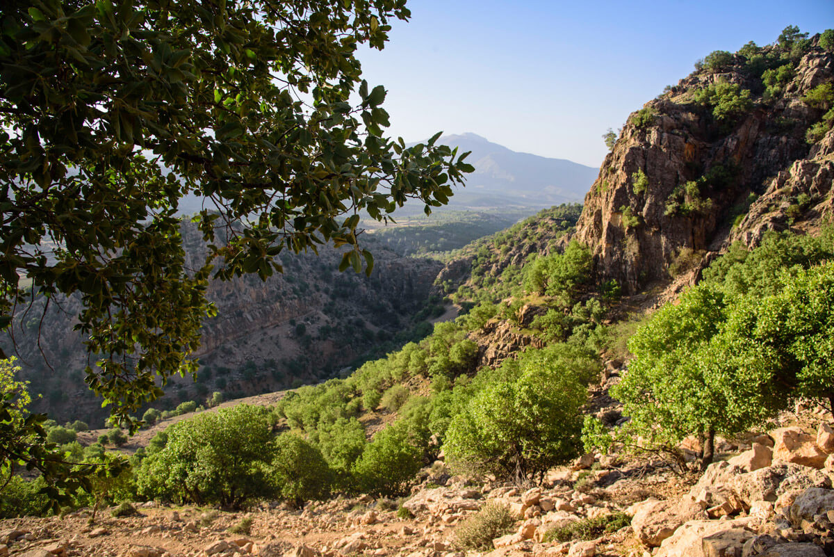 Zagros mountain range