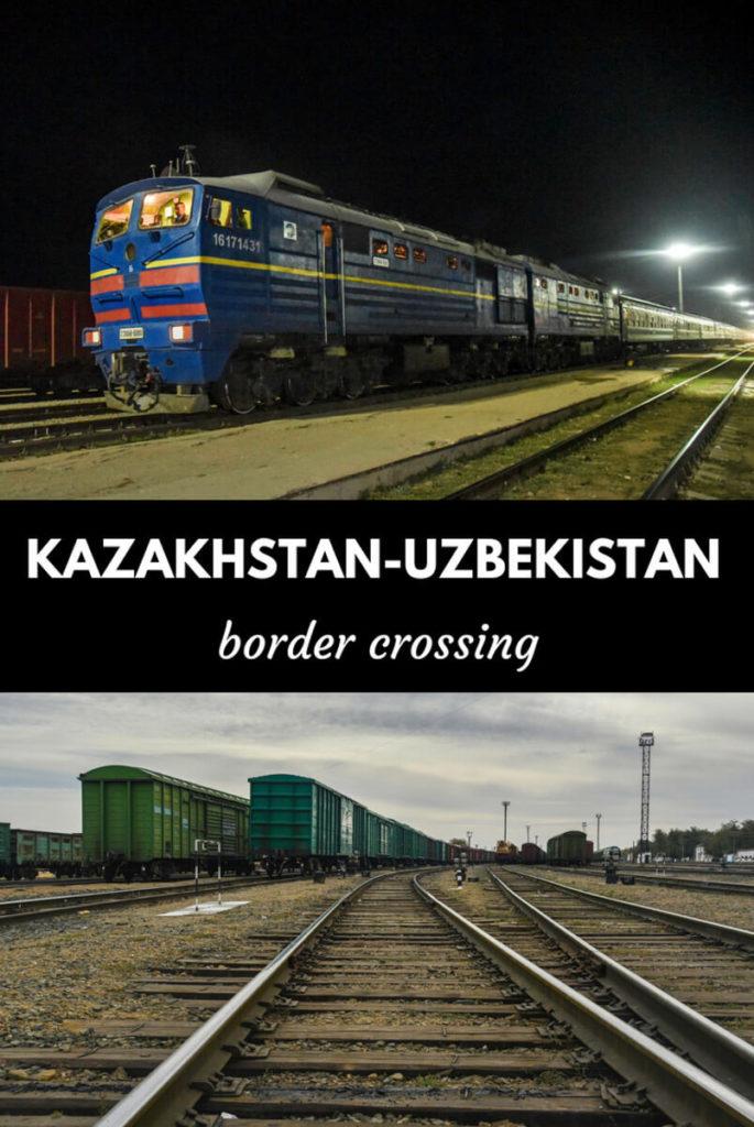 Kazakhstan-Uzbekistan border crossing