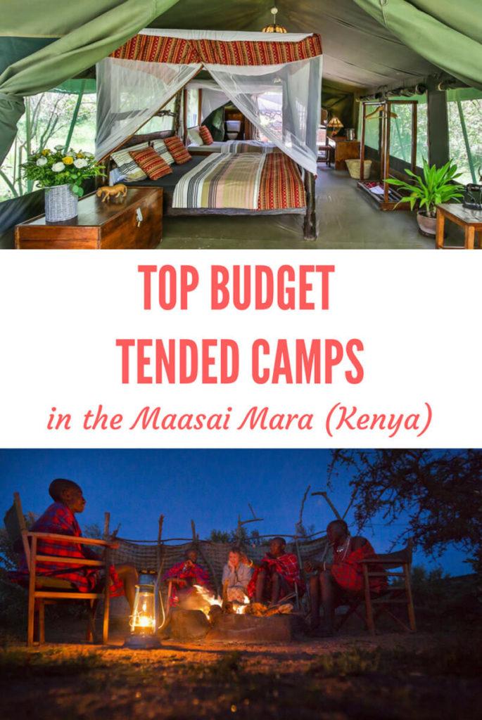 Masai Mara tented camps
