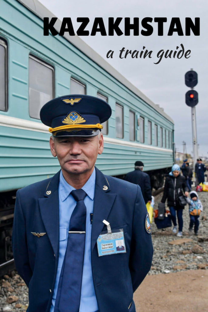 train guide to Kazakhstan