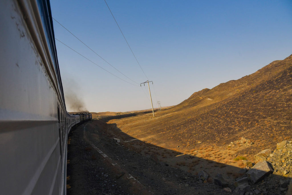 train Uzbekistan