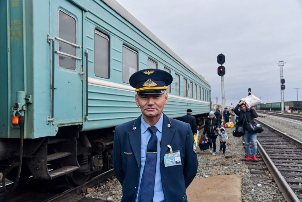 travel the silk road by train