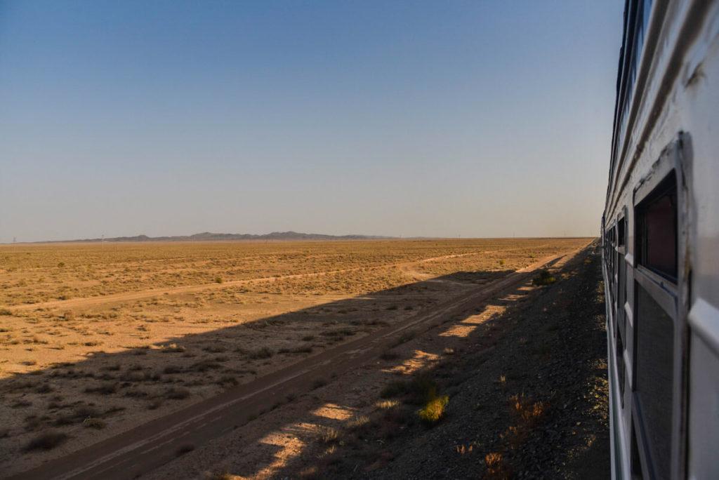 Uzbekistan and Kazakhstan border