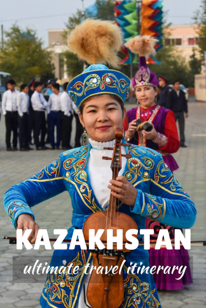 backpacking in Kazakhstan