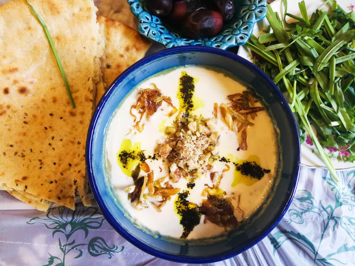 comida en Irán