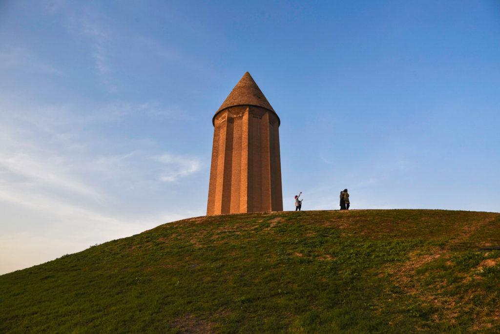 Gonvad e-Qavus tower