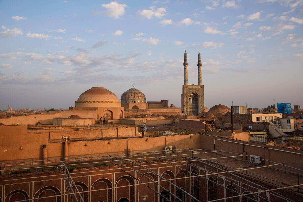 guía de viaje a Irán