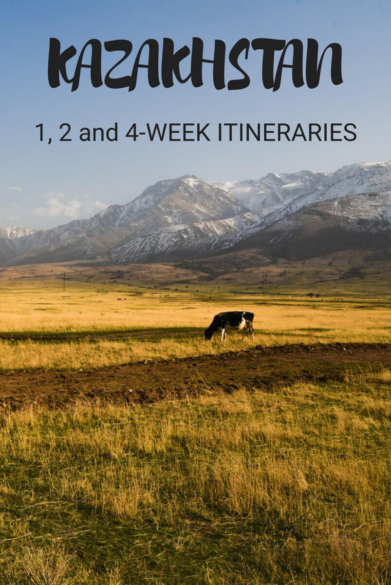 Kazakhstan itinerary